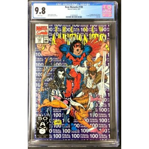 New Mutants (1983) #100 CGC 9.8 White Pages 1st app X-Force (2128765003)