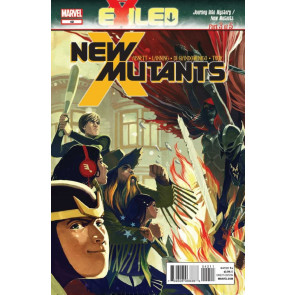 NEW MUTANTS #42 VF/NM EXILED PART 3 OF 5