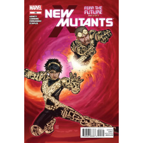 NEW MUTANTS #45 VF/NM FEAR THE FUTURE PART 2 OF 3