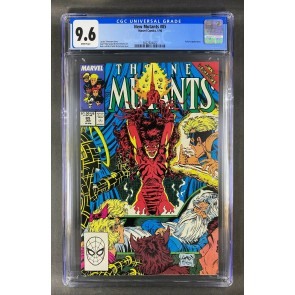 New Mutants (1983) #85 CGC 9.6 White Pages McFarlane/Liefeld Cover (3822924022)