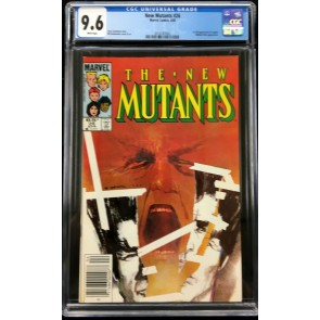 New Mutants (1983) #26 CGC 9.6 1st app Legion (2016787002)