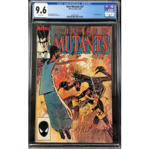 New Mutants (1983) #27 CGC 9.6 2nd app Legion (2016787010)