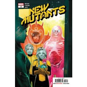 New Mutants (2019) #3 VF/NM Rod Reis Cover
