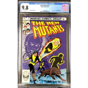 New Mutants (1983) #1 CGC 9.8 White Pages (2128263002)