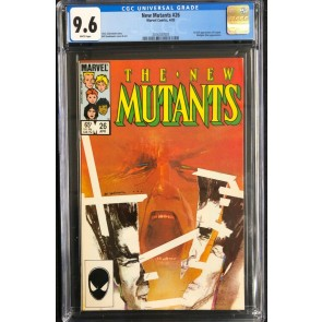 New Mutants (1983) #26 CGC 9.6 1st app Legion (2016787007)