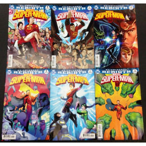 New Superman (2016) #1 2 3 VF/NM (9.0) with variants lot of 6 comics