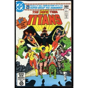 New Teen Titans (1980) #1 NM- (9.2) starring Starfire Cyborg Raven Beast Boy