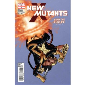 NEW MUTANTS #46 VF/NM FEAR THE FUTURE PART 3 OF 3