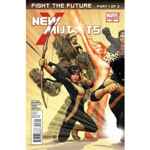 NEW MUTANTS #47 VF/NM FEAR THE FUTURE PART 1 OF 3