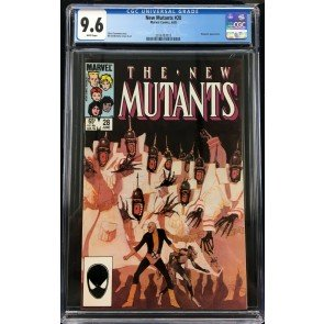New Mutants (1983) #28 CGC 9.6 3rd app Legion Magneto app (2016787015)