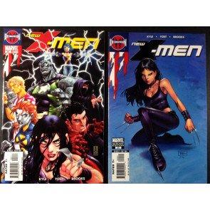 New X-Men (Academy) (2004) #20 regular & NYX variant cover new Wolverine 2 books