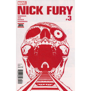 Nick Fury (2017) #3 VF+ (8.5)