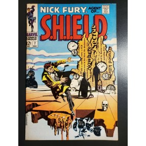 NICK FURY #7 (1968) VF (8.0) High grade Jim Steranko Salvador Dali swipe cover |