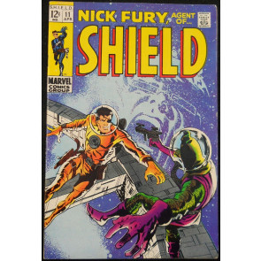 NICK FURY, AGENT OF SHIELD #11 FN/VF SMITH COVER