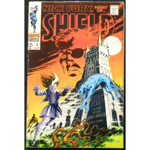 NICK FURY, AGENT OF SHIELD #3 FN+ STERANKO