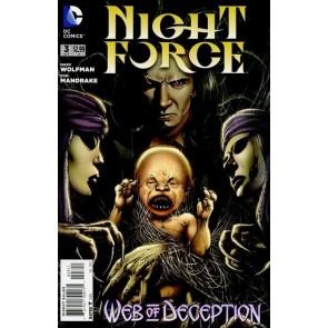 NIGHT FORCE #3 OF 7 NM MARV WOLFMAN TOM MANDRAKE