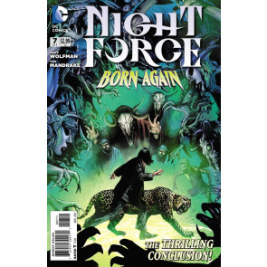 NIGHT FORCE #7 OF 7 VF/NM MARV WOLFMAN TOM MANDRAKE