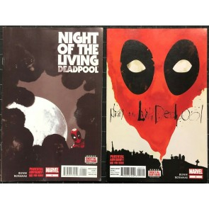 Night Of The Living Deadpool (2014) #1 2 3 4 VF- (7.5) complete set