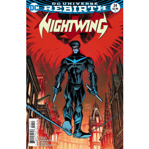 Nightwing (2016) #24 VF/NM 	Casey Jones Variant Cover DC Universe Rebirth