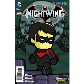 Nightwing (2011) #27 VF/NM-NM Scibblenauts UnMasked Variant Cover The New 52!