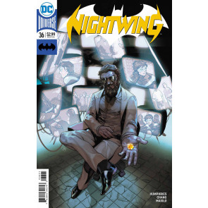 Nightwing (2016) #36 VF/NM Yasmine Putri Variant Cover DC Universe