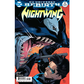Nightwing (2016) #12 VF/NM Reis Variant Cover DC Universe Rebirth