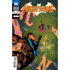 Nightwing (2016) #42 VF/NM Yasmine Putri Variant Cover DC Universe