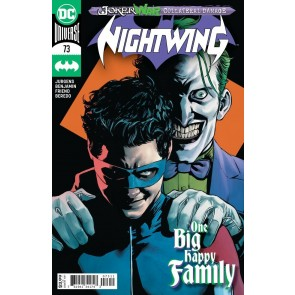 Nightwing (2016) #73 VF/NM Travis Moore Cover Joker War Collateral Damage