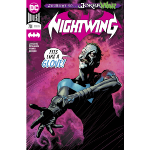 Nightwing (2016) #70 VF/NM Regular & Alan Quah Variant Cover Joker War Set