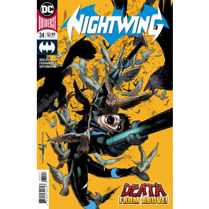 Nightwing (2016) #34 VF/NM Javier Fernandez Cover DC Universe Rebirth