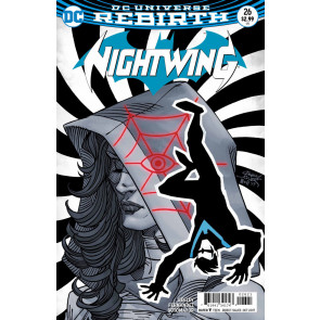 Nightwing (2016) #26 VF/NM Casey Jones Variant Cover DC Universe Rebirth