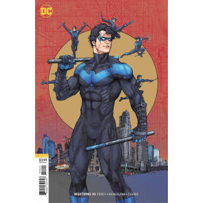 Nightwing (2016) #48 VF/NM Kenneth Rocafort Variant Cover DC Universe