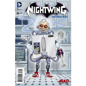 Nightwing (2011) #30 VF/NM-NM 1:25 Alfred E. Newman MAD Variant Cover
