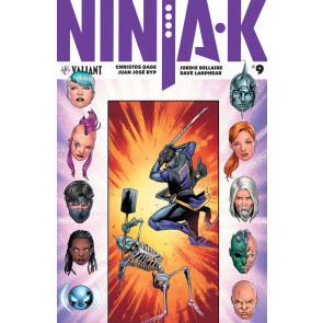 Ninjak (2017) #9 VF/NM Carmen Nunez Carnero Cover Valiant