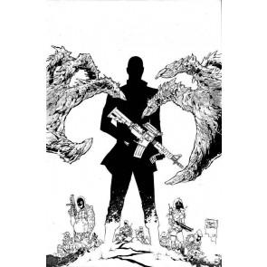 Nocterra (2021) #5 VF/NM 1:10 Tony Daniel Black & White Variant Image Comics