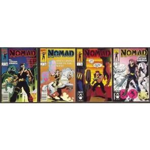 NOMAD #'s 1, 2, 3, 4 COMPLETE 1990 SET