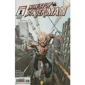 Non-Stop Spider-Man (2021) #1 VF/NM David Finch Premiere Variant Cover