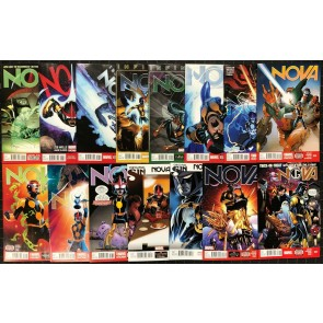 Nova (2013) #5-22 VF/NM (9.0) near complete run missing #10 12 18 15 comics