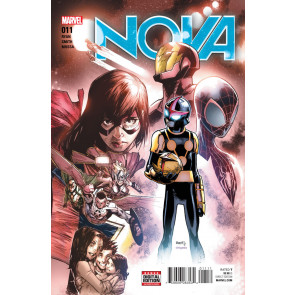 Nova (2015) #11 VF/NM Humberto Ramos Cover