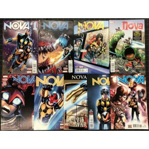 Nova (2016) #1-11 VF/NM (9.0) near complete set missing #6 8 nine comics total