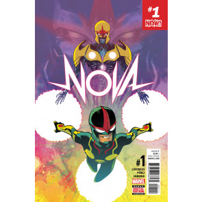NOVA (2017) #1 VF/NM  Sam Alexander Ego Return of Classified