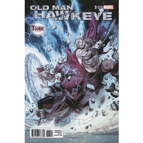 Old Man Hawkeye (2018) #3 VF/NM The Mighty Thor Variant Cover