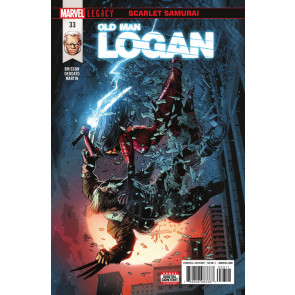 "Old Man Logan (2016) #33 VF/NM ""Scarlet Samurai"""