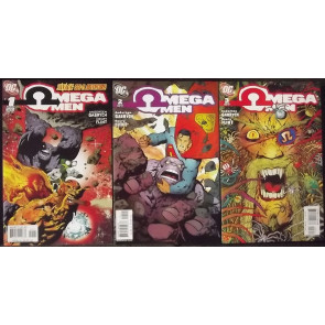OMEGA MEN (2006) #'s 1, 2, 3, 4, 5, 6 COMPLETE VF/NM SET