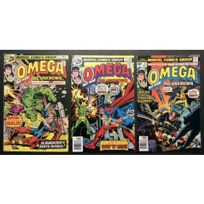 Omega The Unknown (1976) #1-10 VF+ (8.5) Marvel Comics