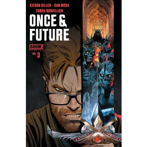Once & Future (2019) #3 VF/NM Dan Mora Cover 1st Printing Boom! Image Comics