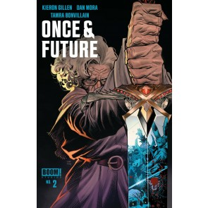 Once & Future (2019) #2 VF/NM Dan Mora Cover 1st Printing Boom! Image Comics