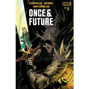 Once & Future (2019) #6 VF/NM Dan Mora Cover 1st Printing Boom! Image Comics