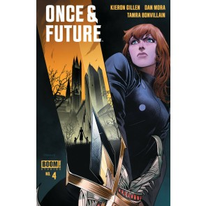 Once & Future (2019) #4 VF/NM Dan Mora Cover 1st Printing Boom! Image Comics