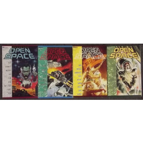 OPEN SPACE (1989) #'s 1, 2, 3, 4 COMPLETE VF/NM SET MARVEL GRAPHICS